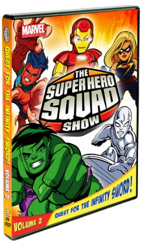The Super Hero Squad Show Quest For The Infinity Sword Vol 2