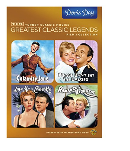 Tcm Greatest Classic Legends Film Collection Doris Day Calamity Jane Please Dont Eat The Daisies Love Me Or Leave Me Romance On The High Seas