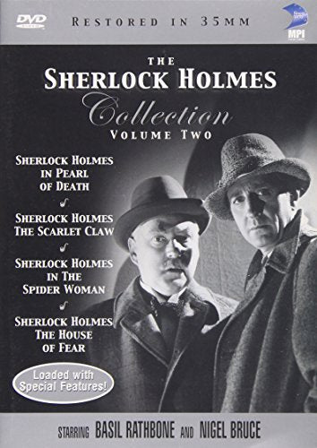 The Sherlock Holmes Collection Vol 2 The House Of Fearthe Spider Womanpearl Of Deaththe Scarlet Claw