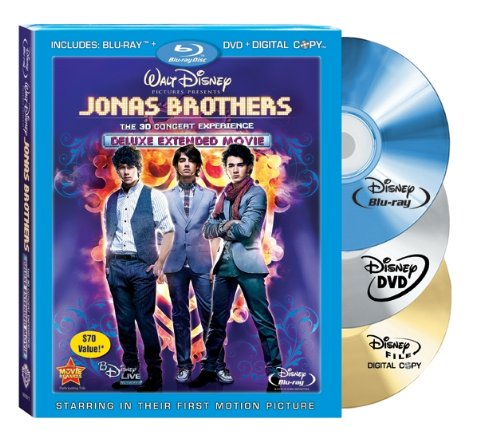 Jonas Brothers The 3D Concert Experience Anaglyph  W Live   Live