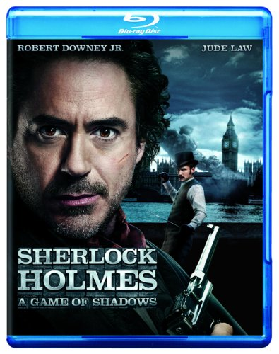 Sherlock Holmes A Game Of Shadows Movieonly Edition
