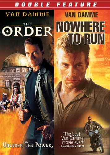 Jeanclaude Van Damme Double Feature The Order Nowhere To Run
