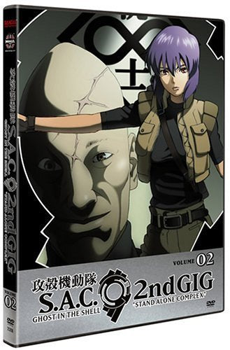 Ghost In The Shell Stand Alone Complex, 2Nd Gig, Volume 02 Episodes 5-8
