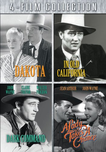 Four-Film Collection Dakota / In Old California / Dark Command / A Lady Takes A Chance