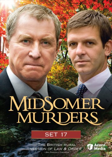 Midsomer Murders Set 17 The Dogleg Murders The Black Book Secrets And Spies The Glitch
