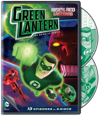 Green Lantern Rise Of The Red Lanterns The Animated Series Season 1 Part 1
