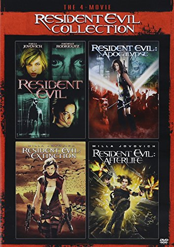 The 4Movie Resident Evil Collection Resident Evilresident Evilapocalypseresident Evilextinctionresident Evilafterlife