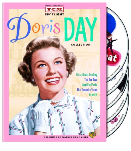 Tcm Spotlight Doris Day Collection Its A Great Feeling Tea For Two April In Paris The Tunnel Of Love Starlift