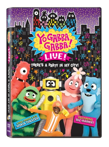 Yo Gabba Gabba Theres A Party In My City Live Concert