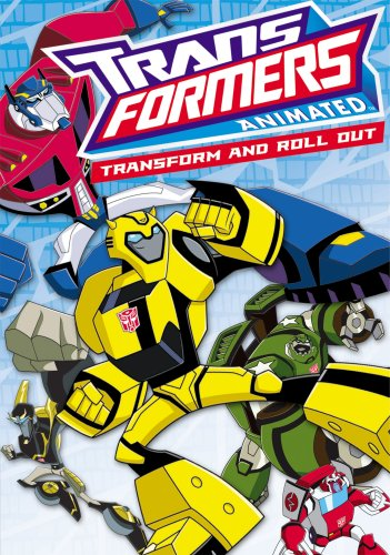 Transformers Animated Transform And Roll Out