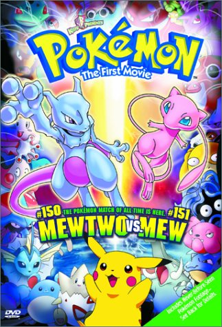 Pokemon The First Movie  Mewtwo Vs Mew