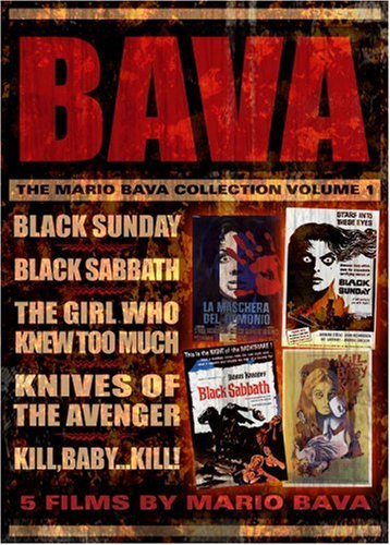 The Mario Bava Collection Volume One Black Sunday / Black Sabbath / The Girl Who Knew Too Much / Kill Baby Kill / Knives Of The Avenger