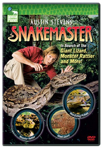 Austin Stevens Snakemaster In Search Of The Giant Lizard Monster Rattler And More