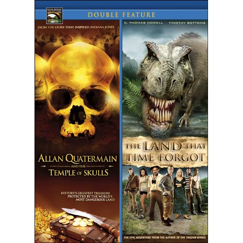 Allan Quatermain & The Temple Of Skulls / The Land That Time Forgot