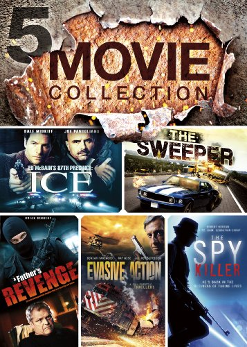 5Movie Action Collection V3 Evasive Action The Spy Killer A Fathers Revenge The Sweeper Ed Mcbains 87Th Precinct Ice
