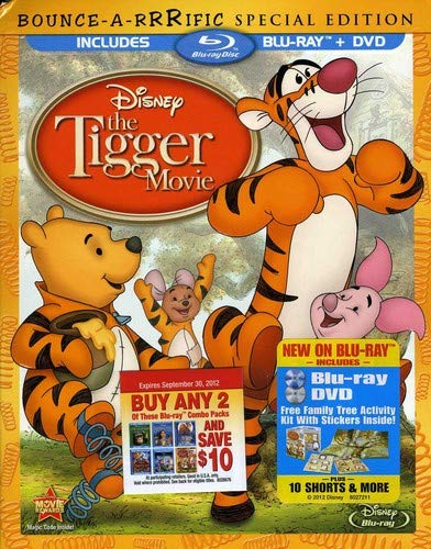 The Tigger Movie Bouncearrrific Special Edition
