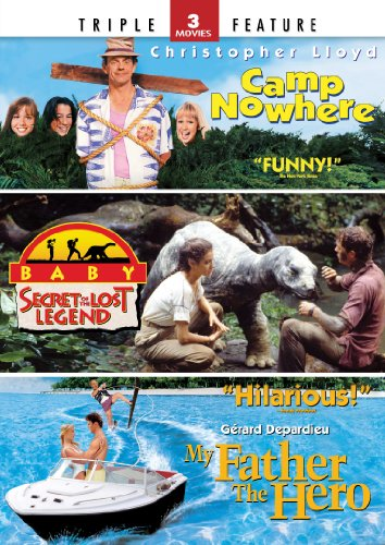 Camp Nowhere Baby Secret Of The Lost Legend My Father The Hero Triple Feature