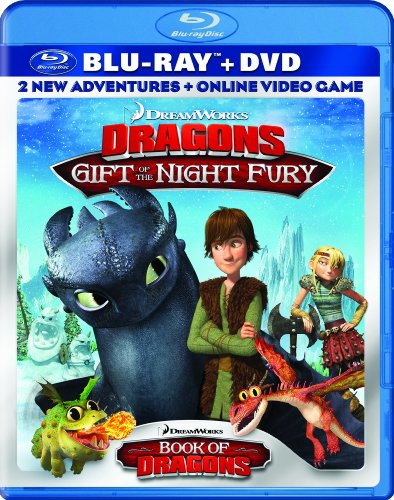 Dreamworks Dragons Gift Of The Night Fury  Book Of Dragons Double Pack