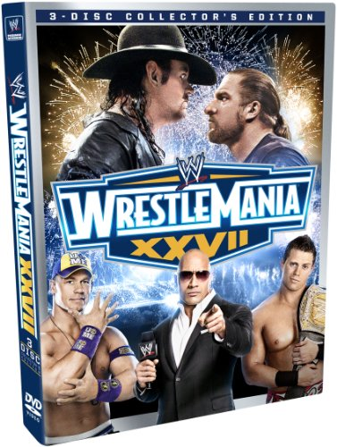 Wwe Wrestlemania Xxvii  Collectors Edition