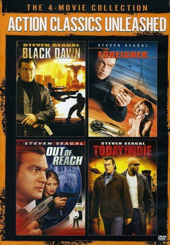 Action Classics Unleashed The 4Movie Collection Black Dawn The Foreigner Out Of Reach Today You Die