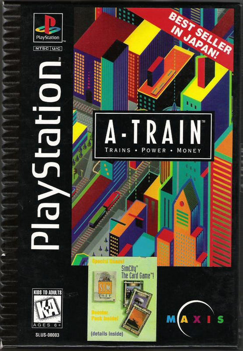 A-Train - PlayStation 1