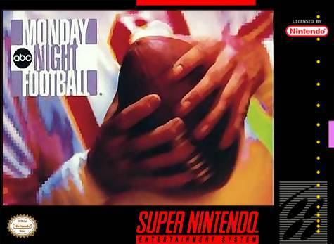 ABC Monday Night Football - Super Nintendo Entertainment System