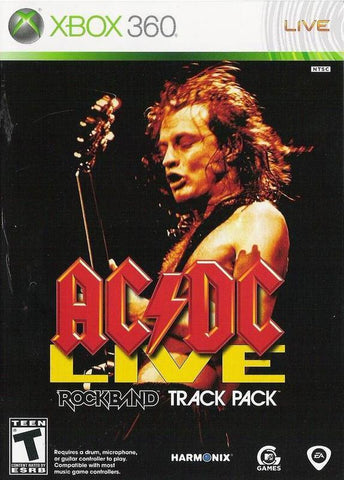 ACDC Live Rock Band Track Pack
