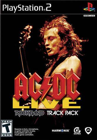 AC/DC Live Rock Band Track Pack - PlayStation 2