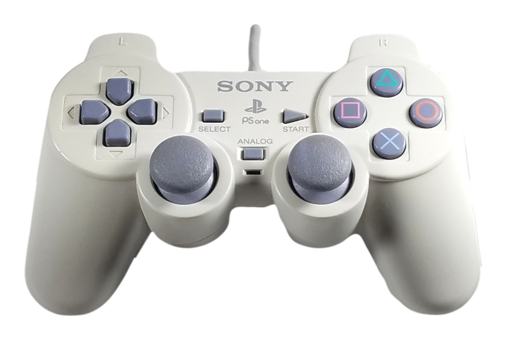 Sony PlayStation 1 Dual Shock Controller – Gray