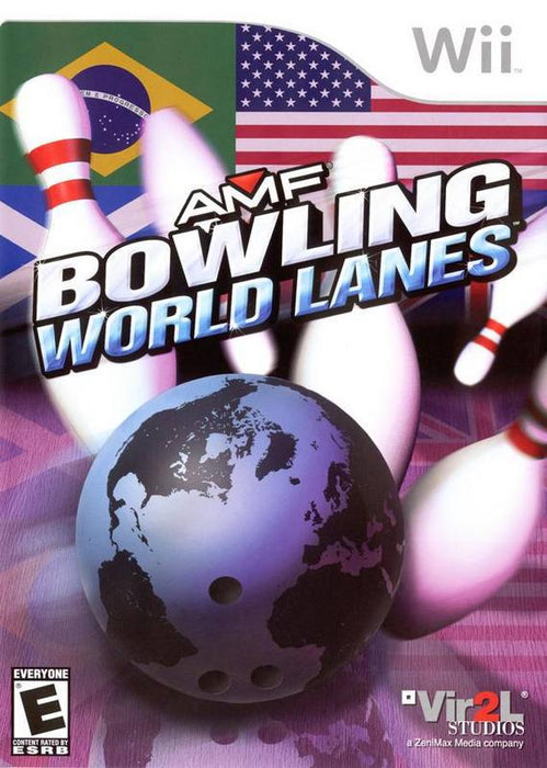 AMF Bowling World Lanes - Wii