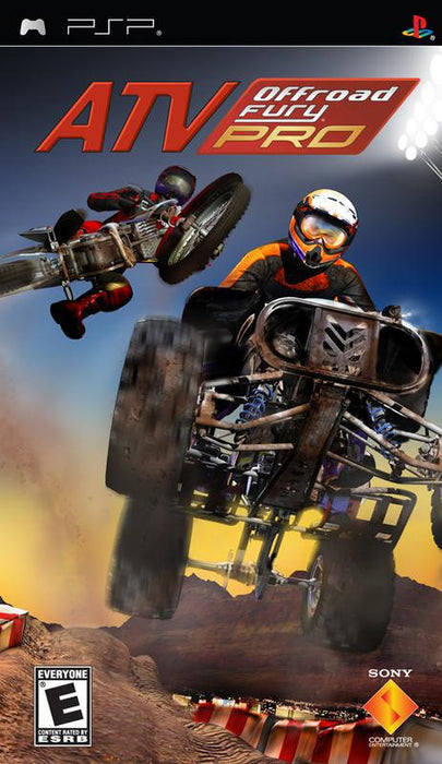 ATV Offroad Fury Pro - PlayStation Portable