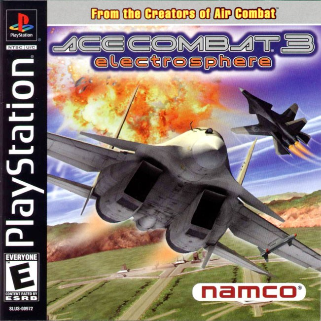 Ace Combat 3 Electrosphere - PlayStation 1