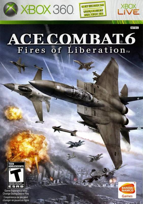 Ace Combat 6 Fires of Liberation - Xbox 360