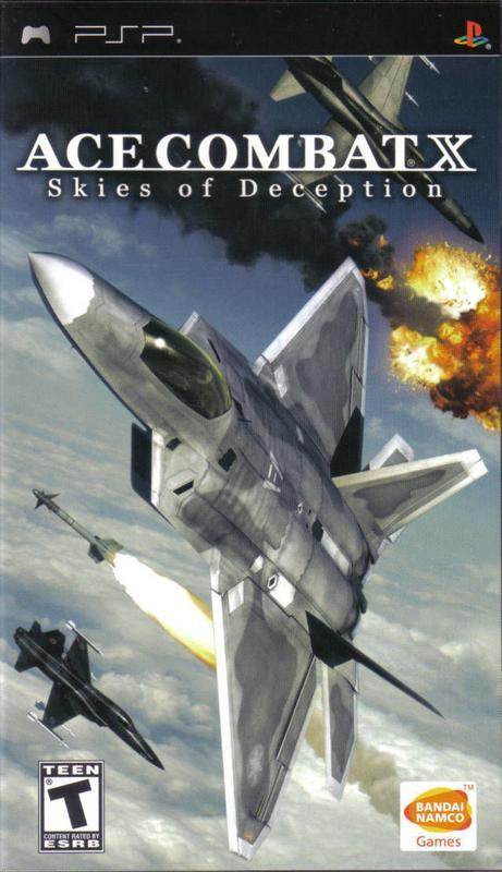Ace Combat X Skies of Deception - PlayStation Portable
