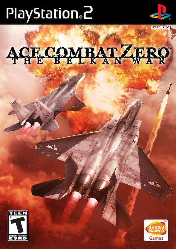 Ace Combat Zero The Belkan War - PlayStation 2