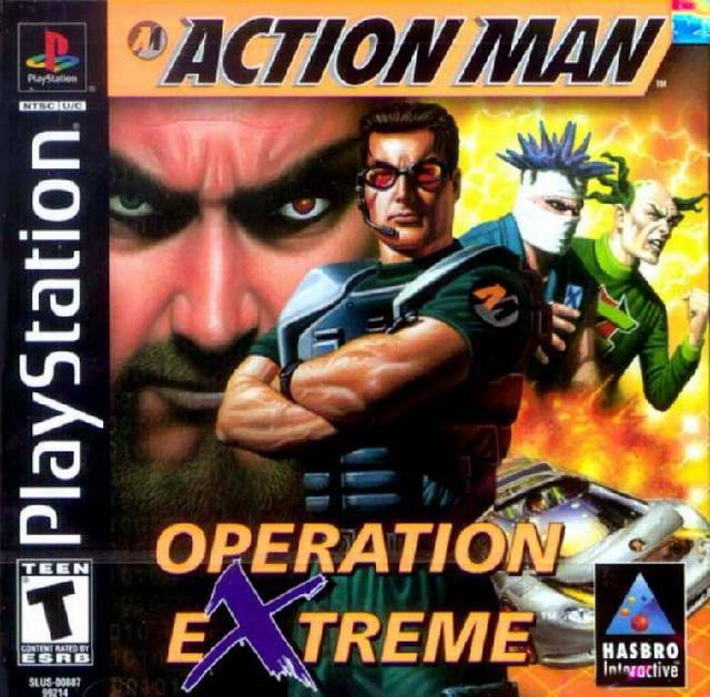 Action Man Operation Extreme - PlayStation 1