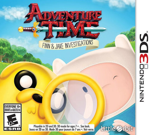 Adventure Time Finn and Jake Investigations - Nintendo 3DS