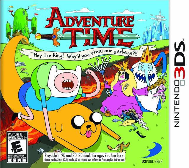 Adventure Time Hey Ice King! Whyd You Steal Our Garbage?! - Nintendo 3DS