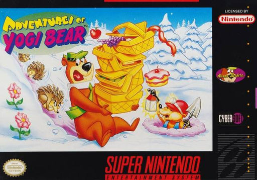 Adventures of Yogi Bear - Super Nintendo Entertainment System