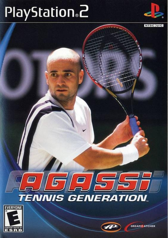 Agassi Tennis Generation - PlayStation 2