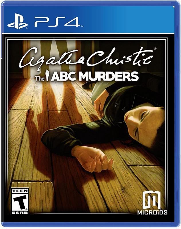 Agatha Christies The ABC Murders - PlayStation 4