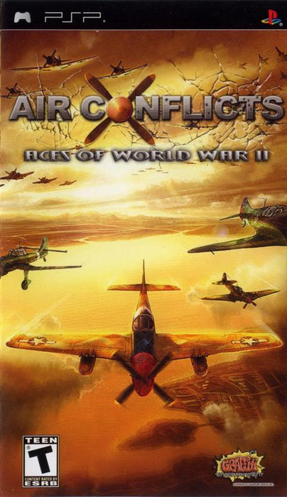 Air Conflicts Aces of World War II - PlayStation Portable
