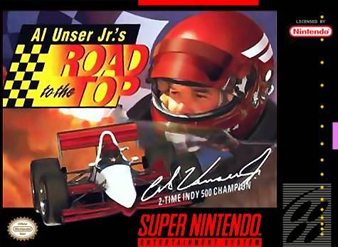 Al Unser Jr.s Road to the Top - Super Nintendo Entertainment System