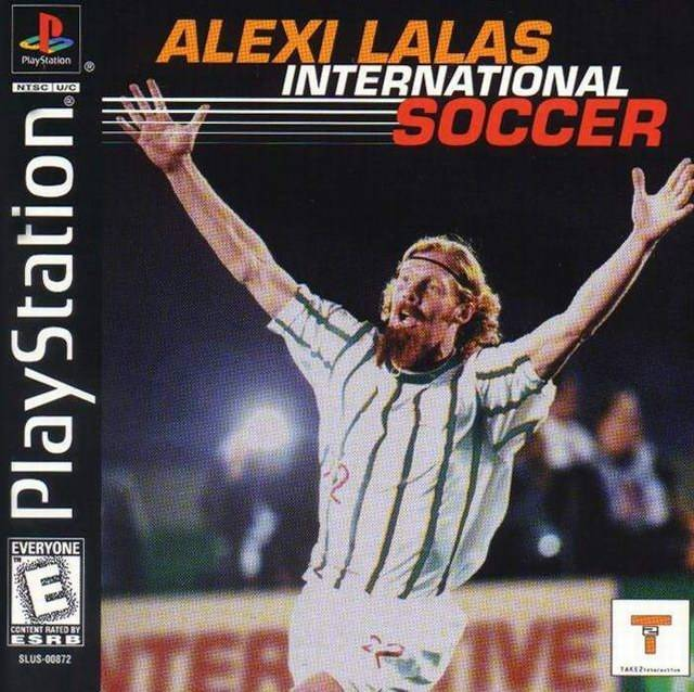 Alexi Lalas International Soccer - PlayStation 1