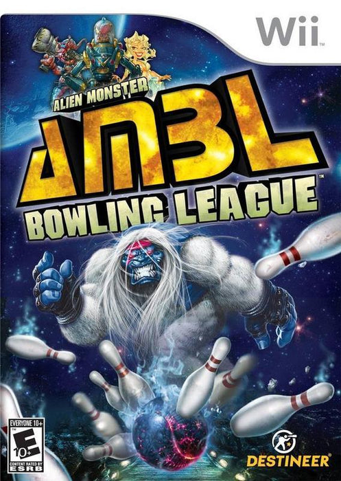 Alien Monster Bowling League - Wii
