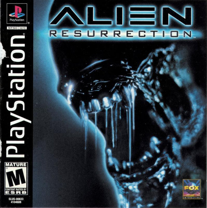 Alien Resurrection - PlayStation 1