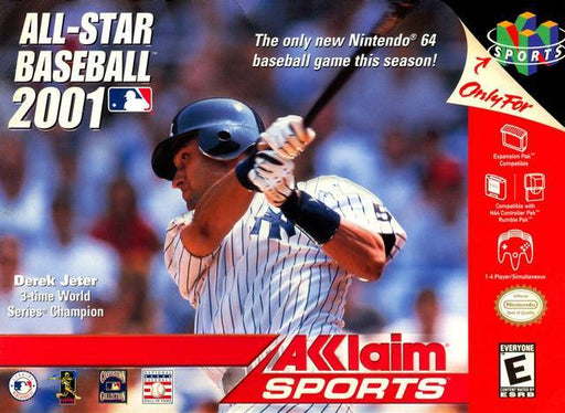 All-Star Baseball 2001 - Nintendo 64