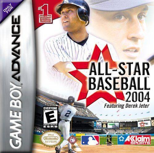 All-Star Baseball 2004 featuring Derek Jeter - Game Boy Advance