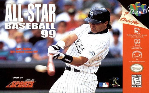 All-Star Baseball 99 - Nintendo 64