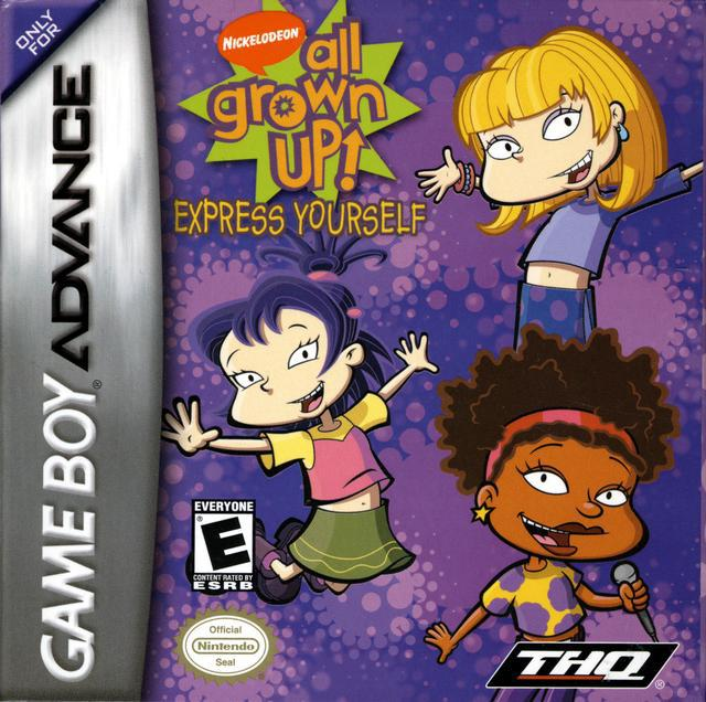 All Grown Up! Express Yourself - Game Boy Advance